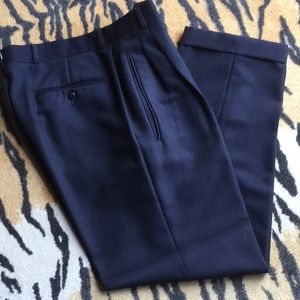 Hugo Boss Lopez Pleated Front Dress Pant 32R